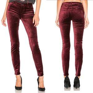 Paige Jeans Verdugo Ultra Skinny Velvet New 25